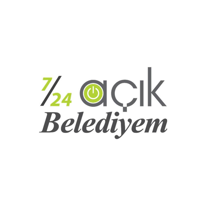 7/24 Açık Belediyem Logo - DİJİTAL MEDYA
