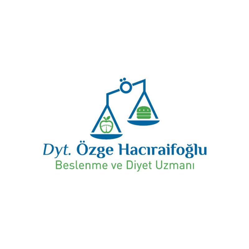 Dyt. Özge Hacıraifoğlu Logo - DİJİTAL MEDYA