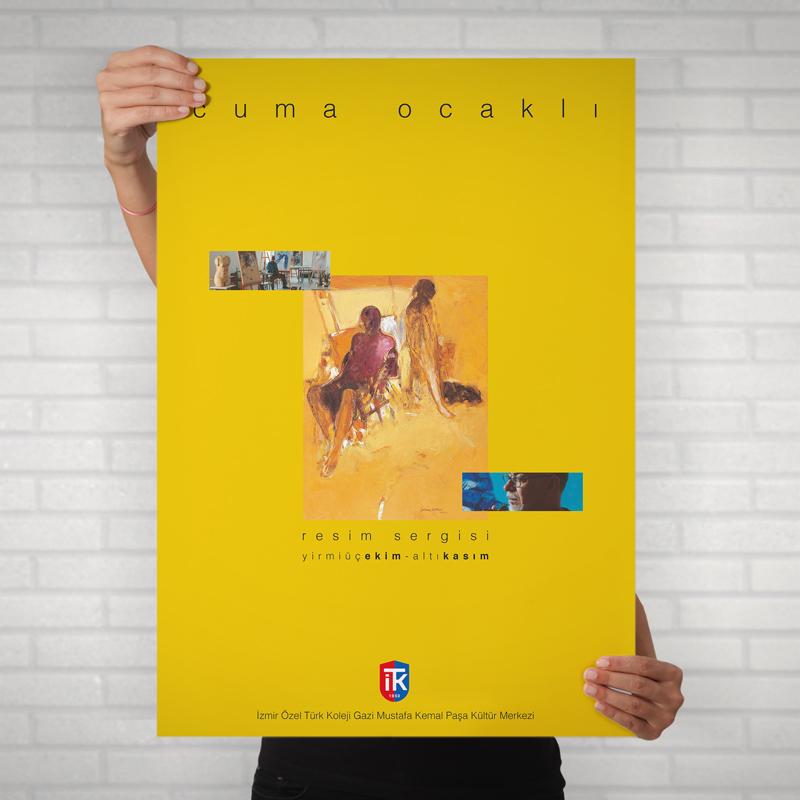 İTK Cuma Ocaklı Sergi Poster - DİJİTAL MEDYA