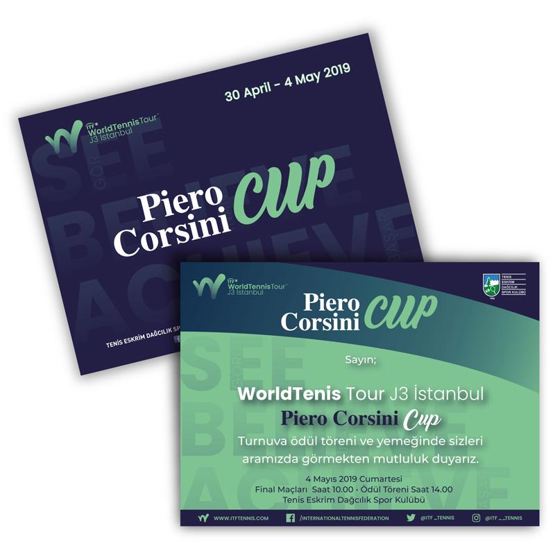 Piero Corsini Cup Final Davetiye - DİJİTAL MEDYA