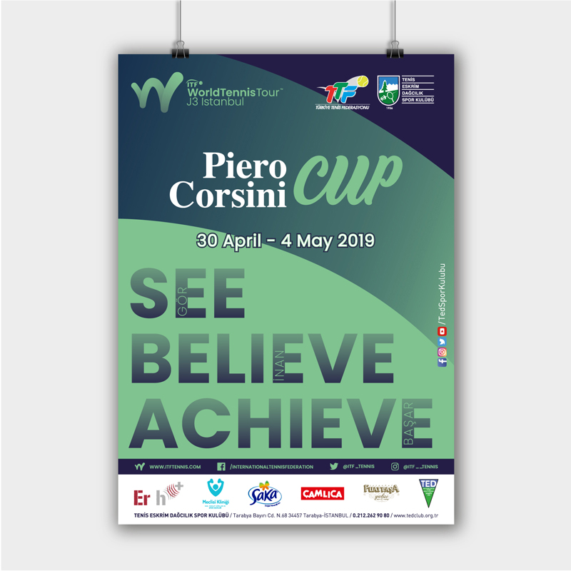 Piero Corsini Cup Poster - DİJİTAL MEDYA