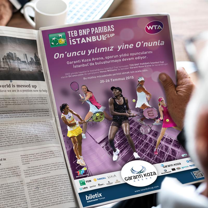 TEB İstanbul Cup İlan - DİJİTAL MEDYA