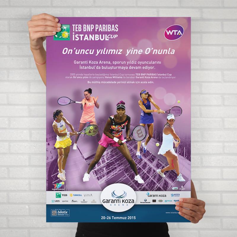 TEB İstanbul Cup Poster - DİJİTAL MEDYA